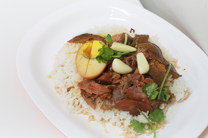 Pork Trotters Rice